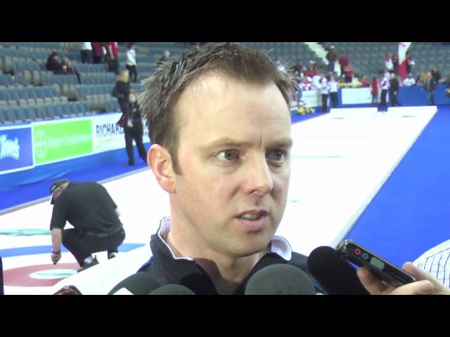 2011 Ford World Men's Curling Championship - Final Media Scrum