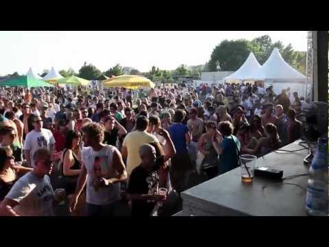 Oliver Koletzki @ Campus Open Air Festival 2012 Offenburg - LIVE-Video