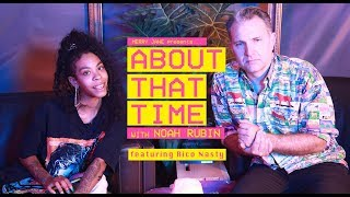 Rico Nasty Rolls Fronto Leaf and Talks Tour Life | ABOUT THAT TIME