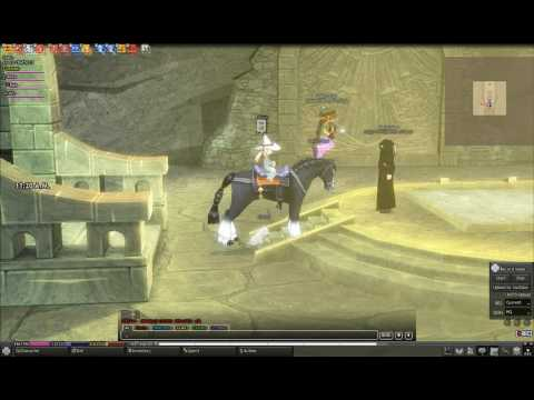 Mabinogi - Running on a horse