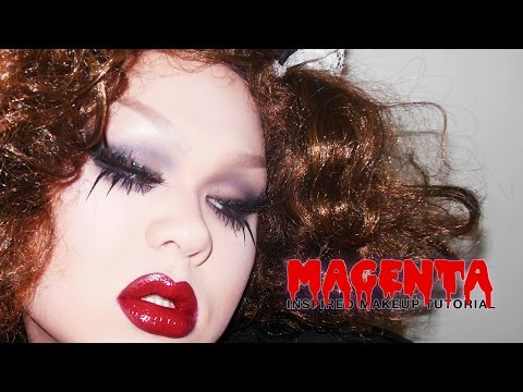 ROCKY HORROR Magenta Inspired Makeup Tutorial | THIS IS HALLOWEEN