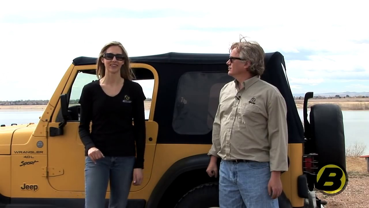 Jeep Wrangler Tj >> Using the soft top on your Jeep Wrangler TJ - YouTube