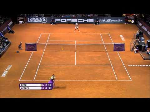 2016 Porsche Tennis Grand Prix Hot Shot | Angelique Kerber