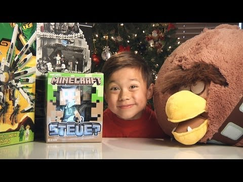 CHRISTMAS HAUL 2012 - Angry Birds, Lego Star Wars, Ninjago & Minecraft! EPIC GIFTS!