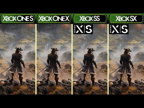 GreedFall - Xbox One S|X & Xbox Series X|S - Comparison & FPS