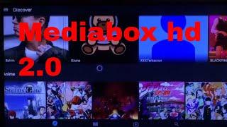 Mediabox Hd 2.0/ the movie dB .apk/ Movies, Tv Shows, Anime, Music