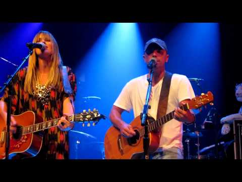 "Kenny Chesney & Grace Potter feat Matraca Berg - ""You & Tequila"" Nashville, TN 9/12/11"