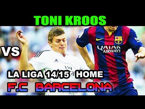 Toni Kroos vs Barcelona LA LIGA 2014/2015 ( 25/10/2014 - 25.10.2014 ) [HD]