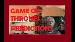 Game of Thrones Final Season Predictions