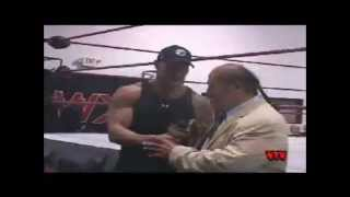 The Rock Rare Indy Wrestling Appearance - Pro Wrestler the Rock with Afa Anoai and Vale at WXW