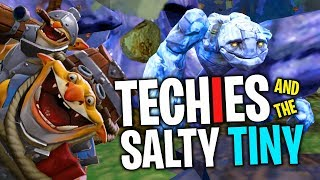 Techies and the Salty Tiny - DotA 2