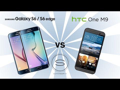 Samsung Galaxy S6/S6 Edge vs HTC One M9