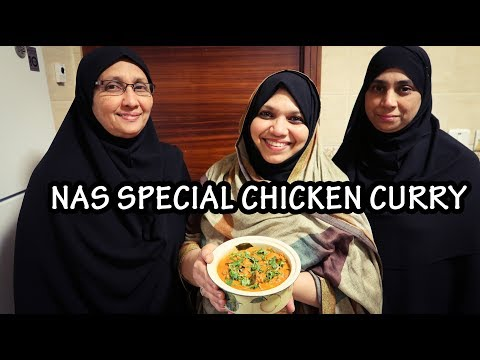 TASTY CHICKEN CURRY-NAS SPECIAL|HOMEMADE-EASY VIDEO}NAS KITCHEN
