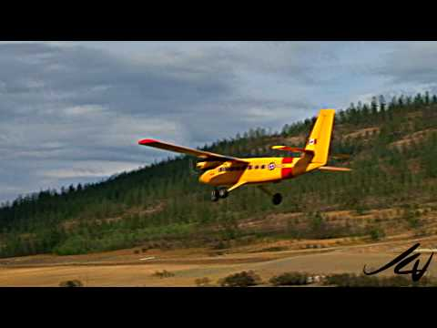 twin engine RC plane flying in Vernon