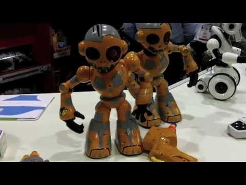 RoboZombie or ZombieBot From WowWee Toys.  First Look at Toy Fair 2013