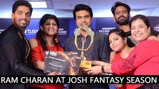 Josh Fantasy Season 4 With Mega Power Star Ram Charan @ Virtuesa