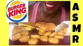 ASMR Burger King Breakfast