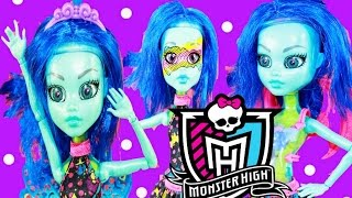 Monster High Create A Monster Barbie Doll Mix & Match Scary Sweet Video Unboxing Toy Review Playset
