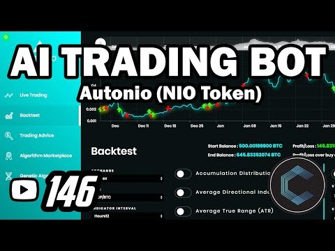 Artificial Intelligence Trading Bot for Cryptocurrency Autonio Completely Decentralized NIO Token