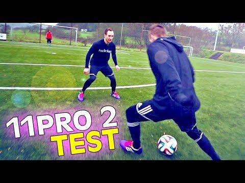 Ultimate 2014 adidas 11Pro 2 Test & Free Kick Review by freekickerz