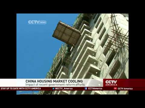 China property market cools down fast