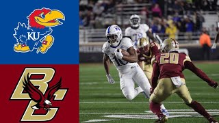 Kansas vs Boston College Highlights | NCAAF Week 3 | College Football Highlights