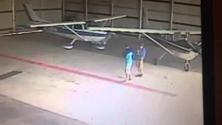Funny security cam video