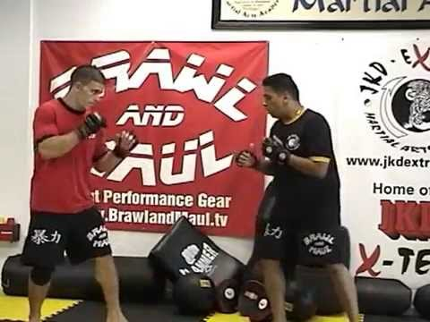 JKD Extreme Sifu Richie Carrion's Oblique Quick Step Out for MMA Image 1