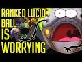 RANKED LUCIO BALL IS A HUGE POTENTIAL PROBLEM - Overwatch!