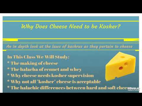 Kosher Cheese Production Part 2