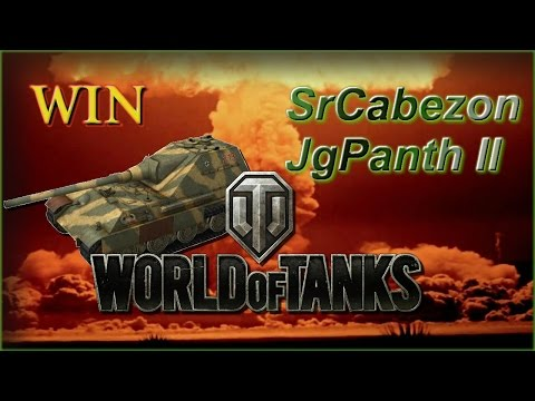 World of Tanks Xbox 360 en Español  Un par de WINS con el JgPanth II