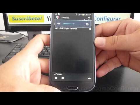 como escuchar estaciones de radio de mexico en vivo samsung galaxy s3 i9300 español Full HD