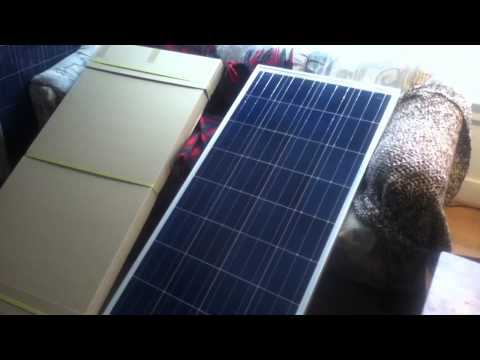 DM Solar 145 Watt Solar Panels