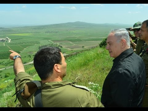 Netanyahu Claims Golan Heights Against International Objection