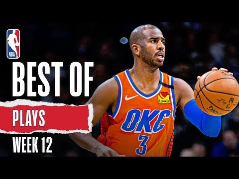 NBA's Best Plays | Week 12 | 2019-20 NBA Season