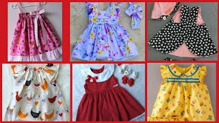 Stylish Cotton Baby Frocks For  6 month to 1 year baby