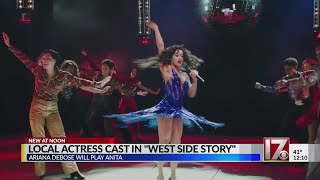 Local actress cast in Spielberg's 'West Side Story'