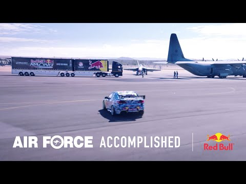 Air Force Trades & The Red Bull V8 Racing Team Create The Ultimate Pit Crew video