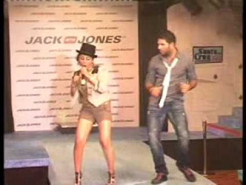 singh is king: yuvraj dances with model at new store in chandigarh...