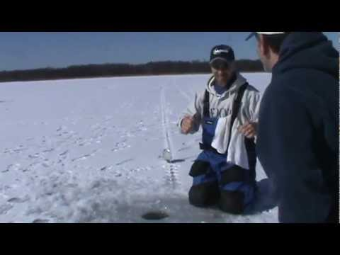 St lawrence River- Eel Bay FEB. 2012 ice fishing