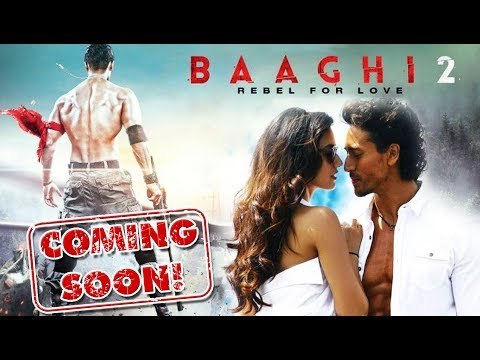 Tiger Shroff On Working With Disha Patani In Baaghi 2 | Upcoming Movie Baaghi 2