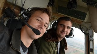Kamov Ka-26 flight with my youngest pilot friend