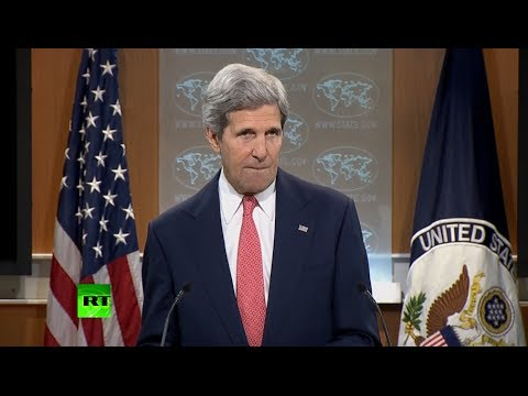 John Kerry attacks RT during Ukraine address