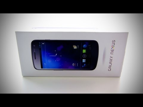 Video: Samsung Galaxy Nexus Unboxing