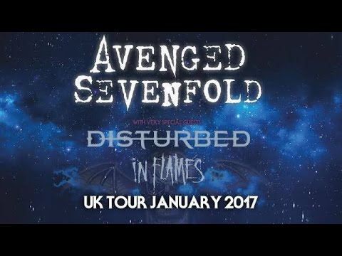 Disturbed 2017 UK Tour with Avenged Sevenfold [PROMO]