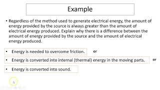 9.5 Electrical energy