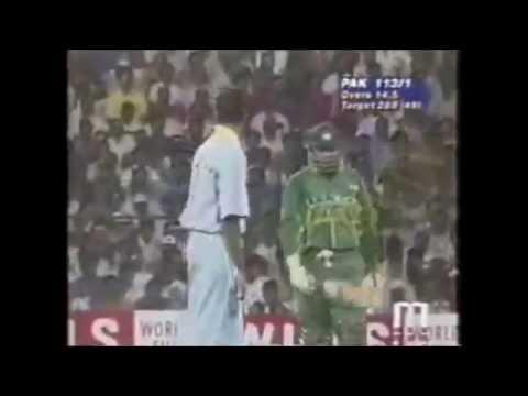 Cricket Fight, Aamir Sohail VS Venkatesh Prasad,Ind Vs Pak, 1996 Cricket World Cup