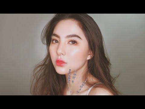 Autumn/Fall Cherry Korean Glass Skin Makeup Tutorial 🍁