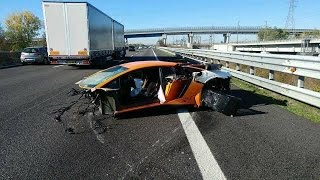 Lamborghini Crash Compilation