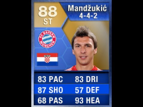 FIFA 13 TOTS MANDZUKIC 88 Player Review & In Game Stats Ultimate Team